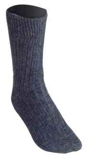Rib Sock in NZ Possum Merino Silk McDONALD/634