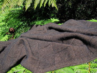 NOBLE WILDE Queen Possum Merino Throw Blankets *11 colours