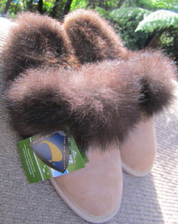POSSUM SCUFF SLIPPER