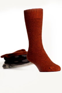 Dress Socks in NZ Possum Merino Silk KORU/K070