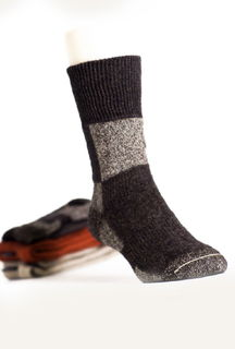 Action Socks in NZ Possum Merino Silk KORU/K074