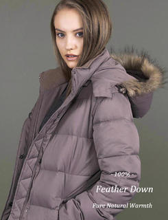 >FEATHER PUFFER JACKETS