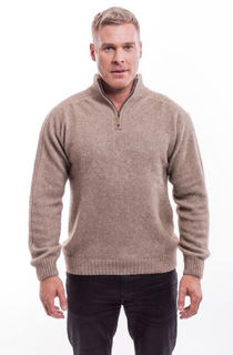 Cable Jersey in NZ Possum Merino Silk McDONALD/6117