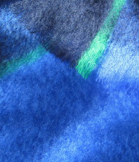 MASTERWEAVE WINDERMERE Plaid Mohair Throw * HORIZON