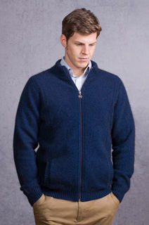 Noble Wilde NW1059 Men's Suffolk Jacket Possum Merino