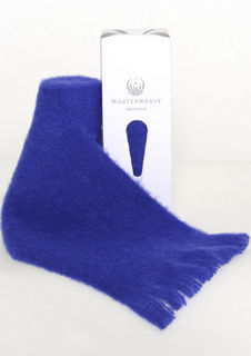 Alpaca Scarf ~ Royal Blue