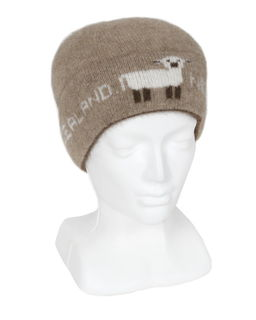 Sheep Skull Beanie in Possum Merino LOTHLORIAN/9915