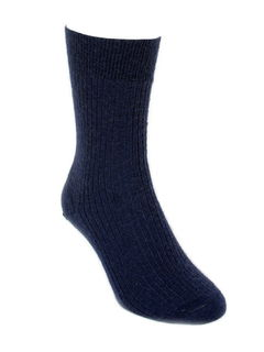 Fine Dress Sock in Possum Merino LOTHLORIAN/9922