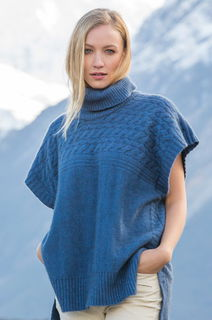 Cable Sweater in Possum Merino NW3111/NOBLE WILDE