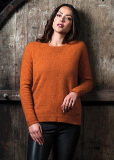 MM Relaxed Sweater in Possum Merino Silk MERINOMINK/1803