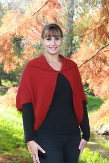 Weka Cape in Possum Merino LOTHLORIAN/9996