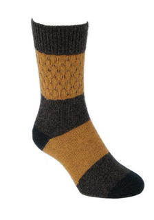 Gecko Socks in NZ Possum Merino style LOTHLORIAN/9886