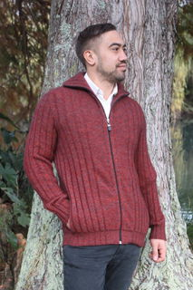 Men's Kara Jacket NZ Possum Merino LOTHLORIAN/9814