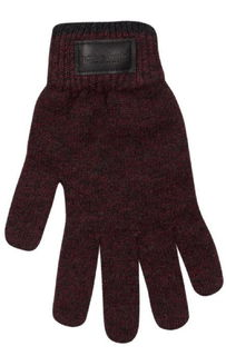 Marl Glove in NZ Possum Merino Silk NX401/Native World
