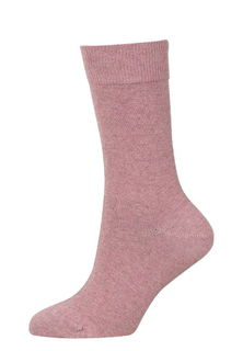 Plain Socks NZ Possum Merino Cotton NX730/Native World