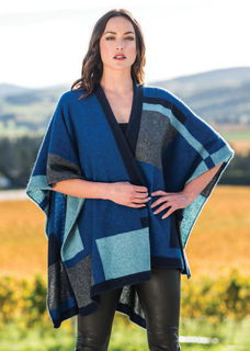 Empress Resort Wrap in Possum Merino Silk MERINOMINK/1781