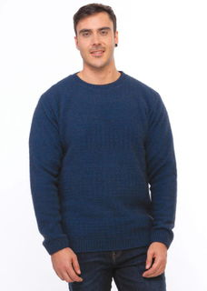 Textured Front Jumper in Possum Merino Silk KORU/K0853