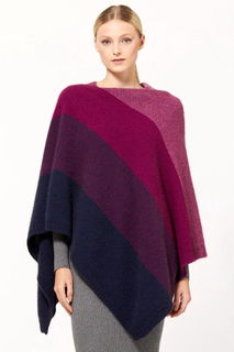 Ombre Poncho in Possum Merino Silk McDONALDS/5010