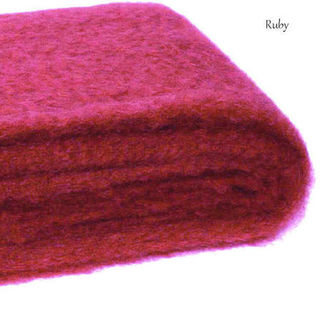 RUBY / NZ Mohair Couch or Chair Throw Rug Winter/Weight