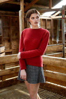 Float Stitch Sweater in Possum Merino Silk McDonald/5027