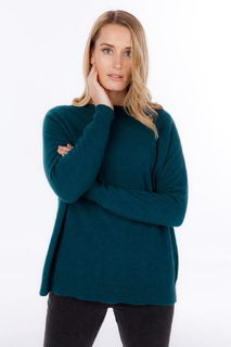 Lounge Sweater in Possum Merino Silk NB816/Nativeworld