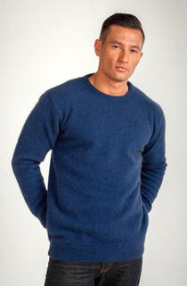 Crew Neck Jumper Possum Merino Silk KORU/K0840