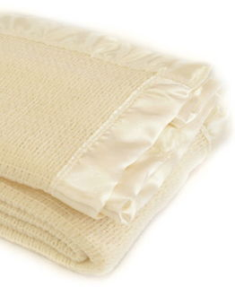 Baby Thermacell Blanket ~ Ivory