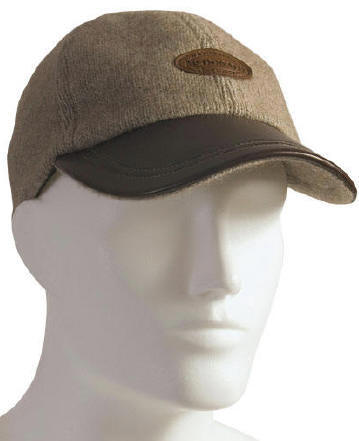 Lambskin Leather Peak Cap Possum Merino Silk McDONALD/607