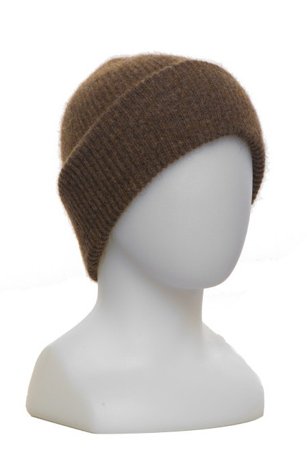 Fine Rib Hat Possum Merino Silk McDONALD/672