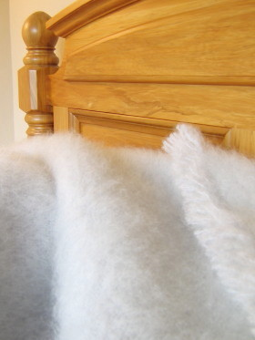 MOHAIR ~ 9 Colour Options in Kingsize  240 x 270cm