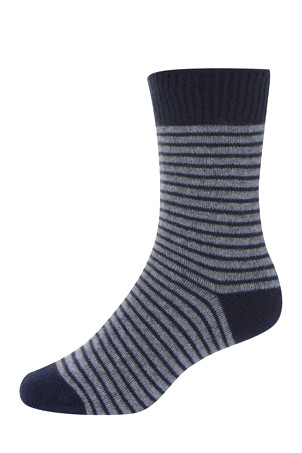 Nativeworld NX458  Striped Dress Sock Possum Merino