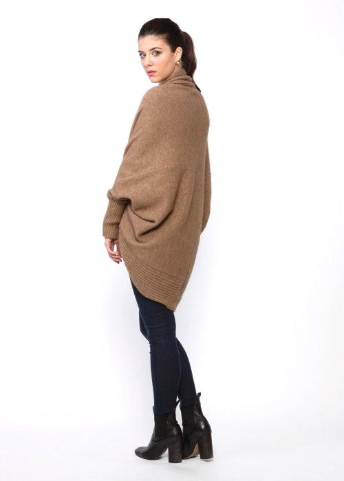 K0525 Cocoon Cardigan Koru Nz Possum Merino Lamb S Wool
