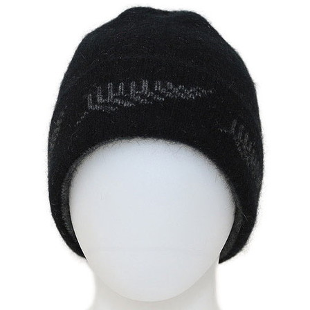 NZ Fern Beanie in Possum Merino Silk K0209/KORU