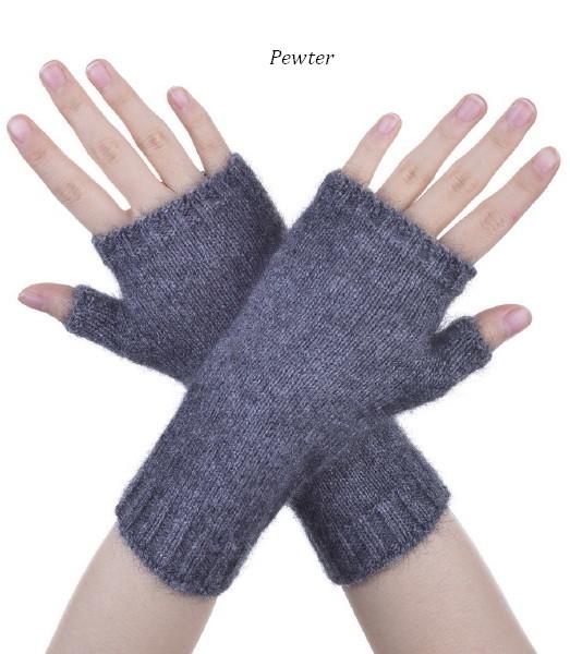 Mcdonald Short Plain Glovelet 6105 Nz Possum Merino Silk