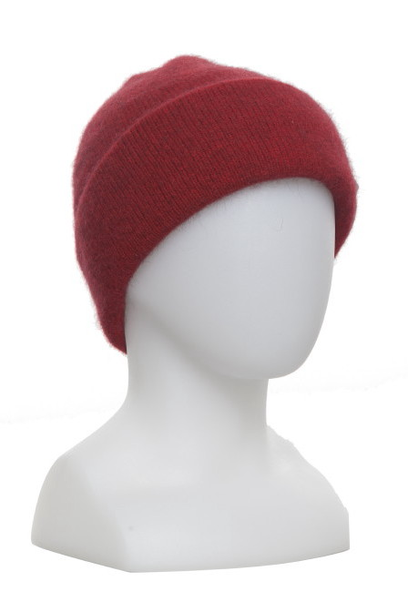 Plain Tubular Beanie Possum Merino Silk McDONALD/675