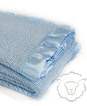 Baby Thermacell Blanket ~ Sky Blue