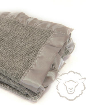 Baby Thermacell Blanket ~ Pewter