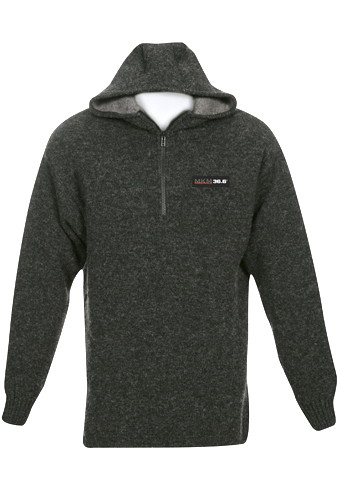 Ms1647 Extreme Possum Merino Hoodie Mkm Recreational