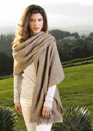 Koru Shawl K087 Koru Nz Possum Merino Lamb S Wool Silk In