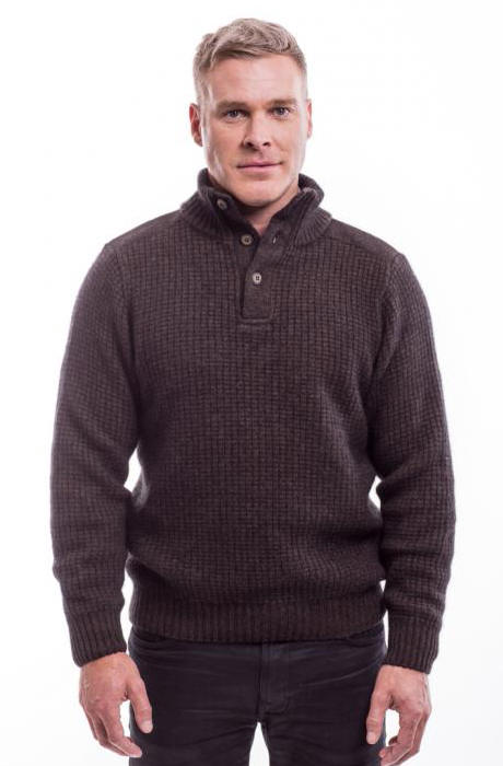 Mens merino jumper nz bronze cardigan for Merino wool shirts for travel
