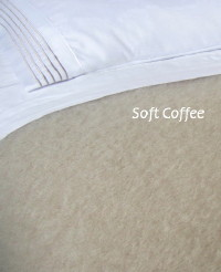 Heirloom Weavers NZ Soft Coffee Mohair Blanket