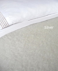 Heirloom Weavers NZ Silver Mohair Blanket
